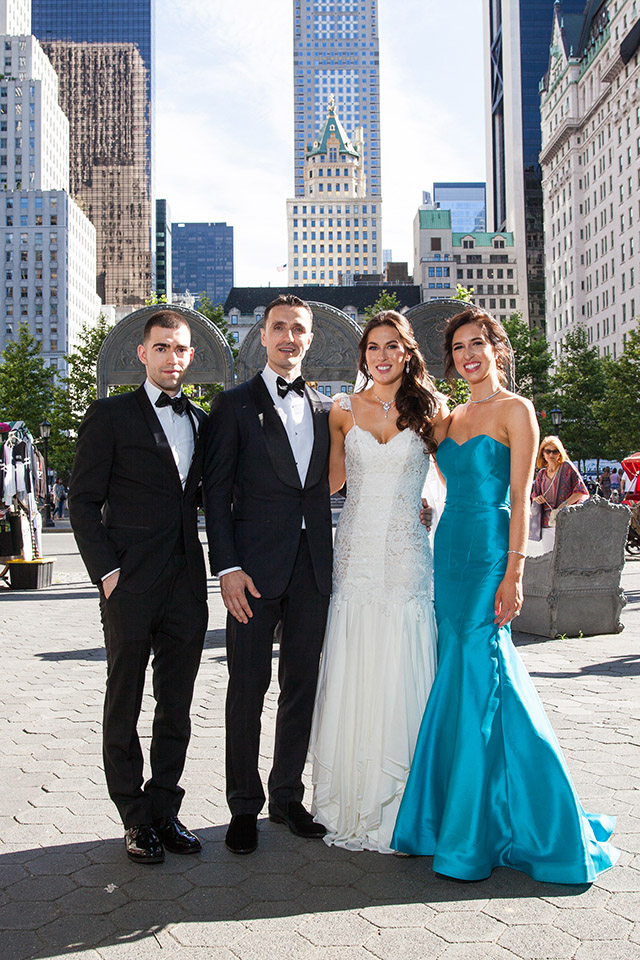 wedding photography videography Central Park NY