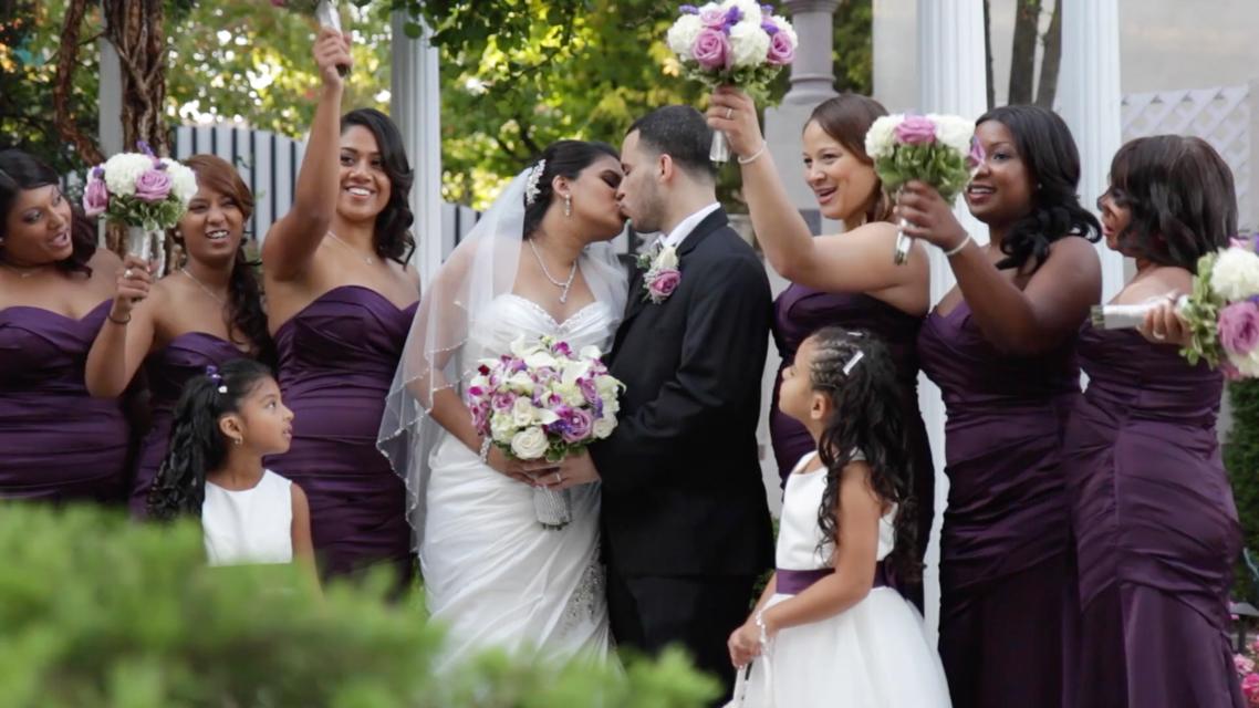 Wedding cinema, wedding videography, wedding highlights, wedding videography Brooklyn NY