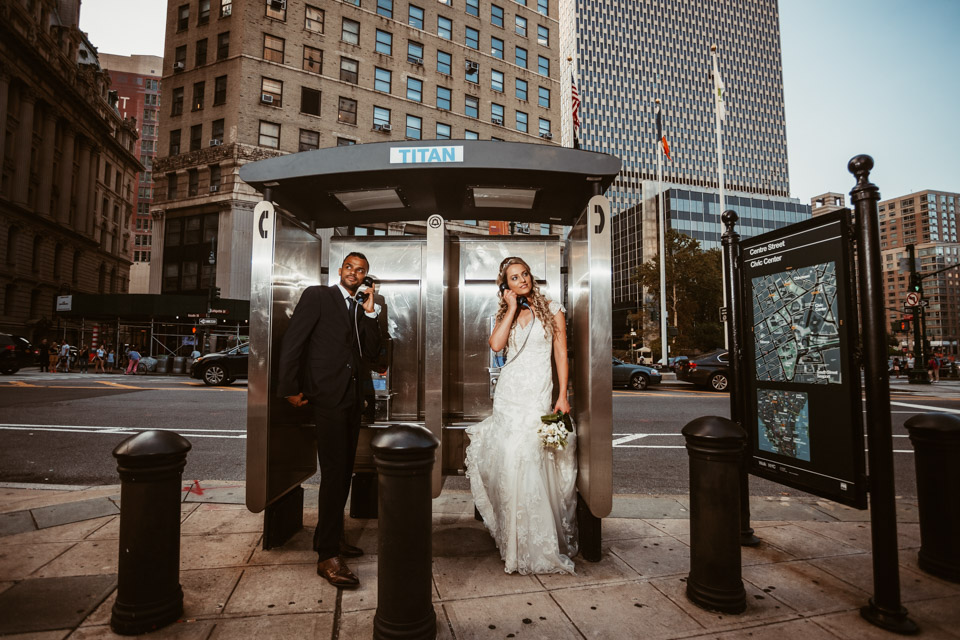 Downtown Manhattan NYC Wedding Photography