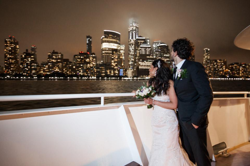 Hudson River Wedding Photos